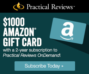 $1000 Amazon Gift Card with 2 year subscription from Practical Reviews